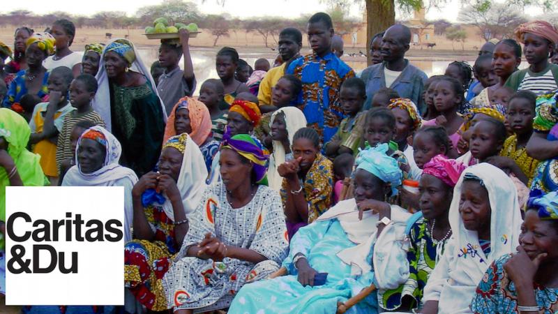 Dorfbewohner in Burkina Faso