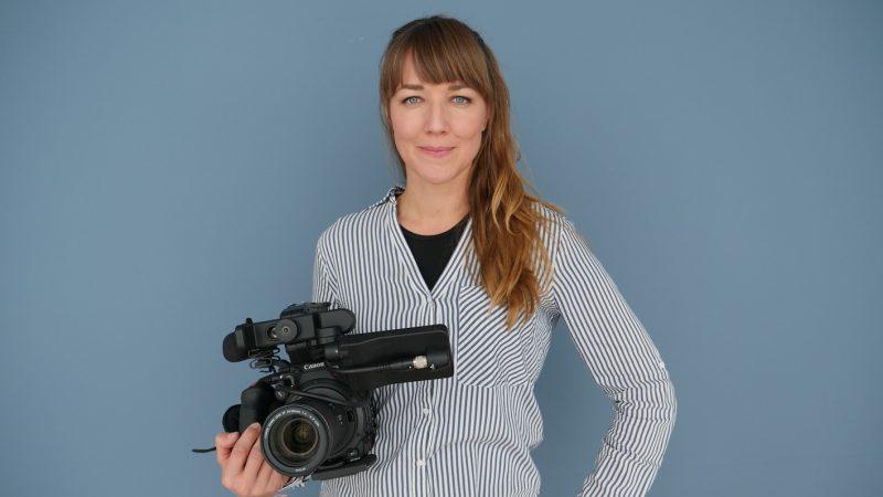 Portrait der österreichischen Filmemacherin Johanna Dworak