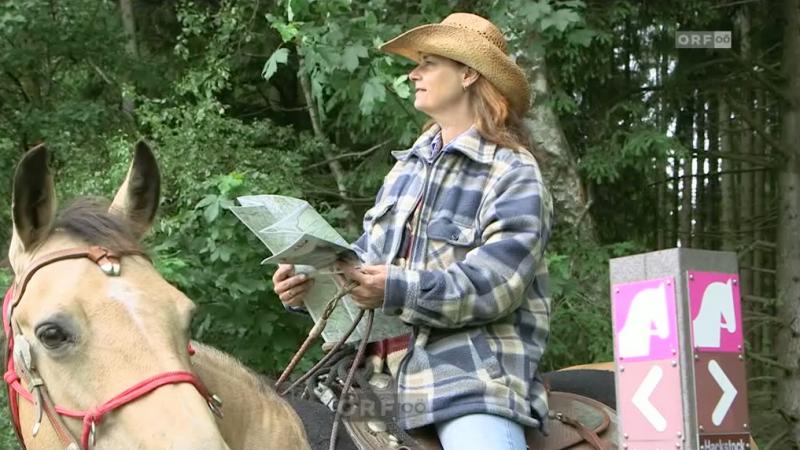 Urlaub mit dem eigenen Pferd bei der Ranche Nordweide in Österreich